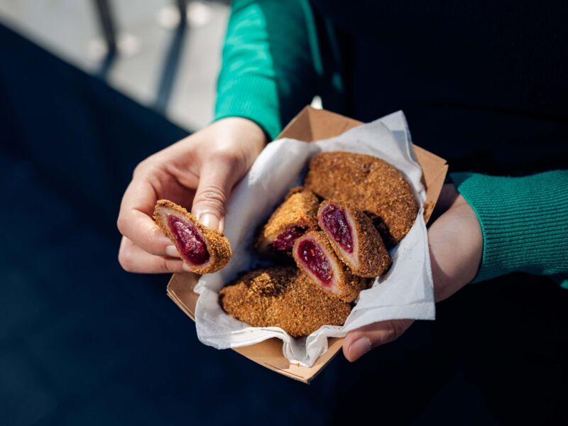 istvanffi vegan burger - desszertek